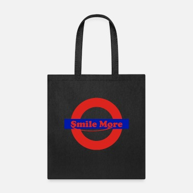 Smile More smile more - roman - Tote Bag
