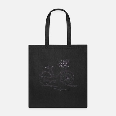 Mountains Bicycle Road Bike Mountain Bike Green Gift Idea - Tote Bag