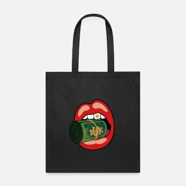 Sexy Lips Red Money Roll Mouth Classic - Tote Bag