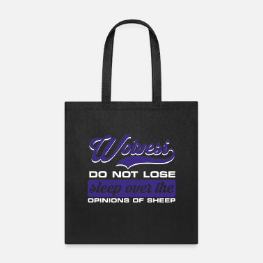 Jaguar Wolves do not lose opinions of sheep - Tote Bag