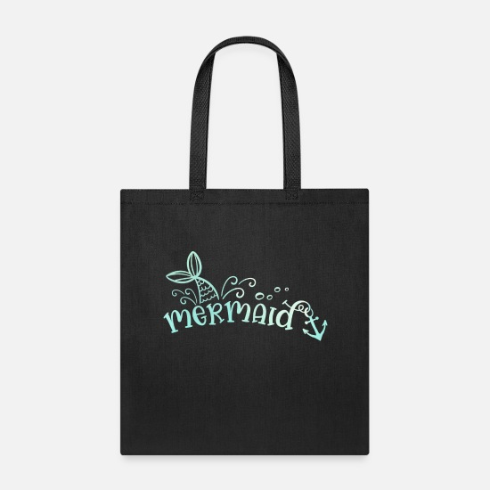 Drinking Bags & Backpacks - Mermaid Summer Sun Travel Beach - Tote Bag black