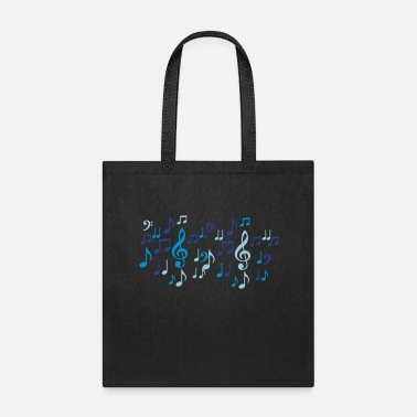 Music music notes - Tote Bag