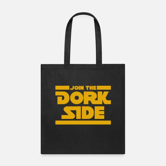 Side Bags & Backpacks - Dork Side - Tote Bag black