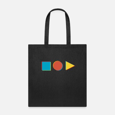 Shape in shape - Tote Bag