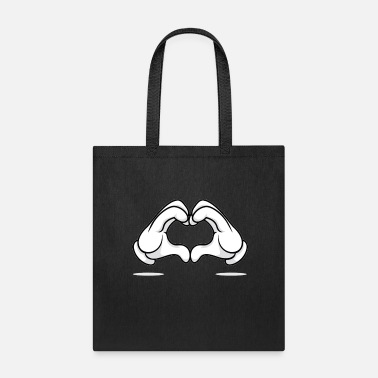 Mickey Heart Hands Mickey Heart Hands - Tote Bag