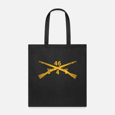 Fiance T Shirt Army 4th Bn 46th Infantry Regt Infantry Br - Tote Bag