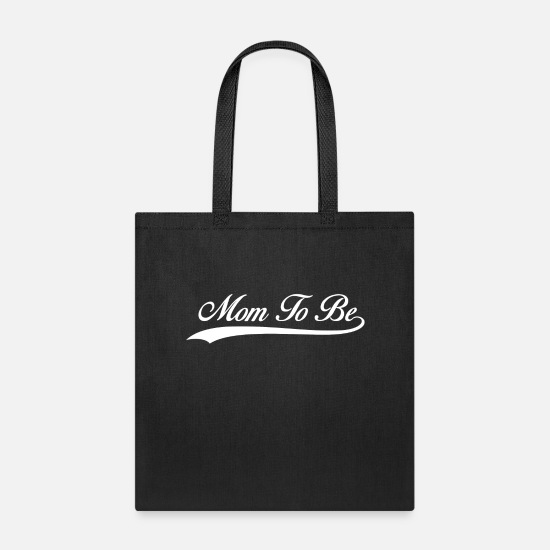 Baby Bags & Backpacks - Mom To Be - Tote Bag black