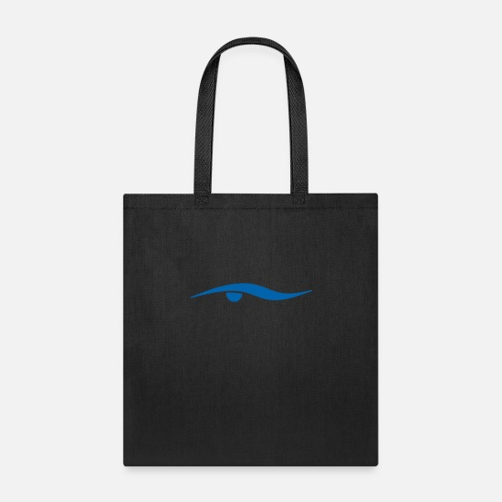 Practice Bags & Backpacks - Swimming Design - Tote Bag black