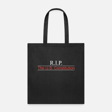 RIP US Constitution Front - Tote Bag
