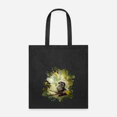 Owl Little Owl - Tote Bag