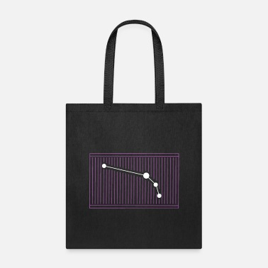Zodiac Pink Aries Barcode Zodiac sign - Tote Bag