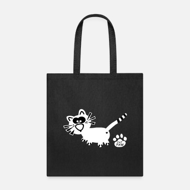 Mice Cat Catpaw Design Cats Cute Cool Fun - Tote Bag