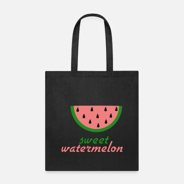 Pink Watermelon Sweet watermelon two design - Tote Bag