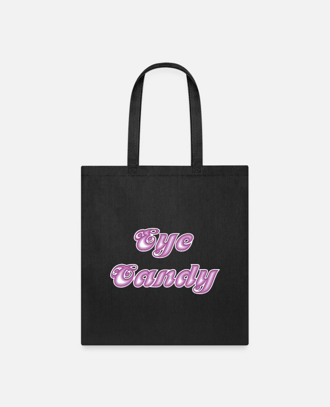 Sweetheart Bags & Backpacks - Eye Candy - Tote Bag black