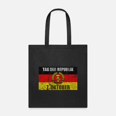 East Germany Day of the republic - East Germany retro - Tote Bag