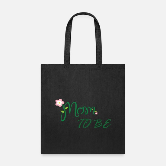 Birthday Bags & Backpacks - Mom to Be - Tote Bag black