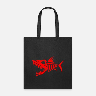 Monster monster fish monster - Tote Bag