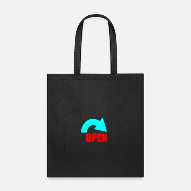 Open open - Tote Bag