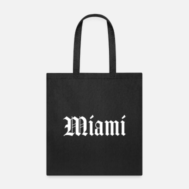 East Coast Miami Florida East Coast Script Script Gift - Tote Bag