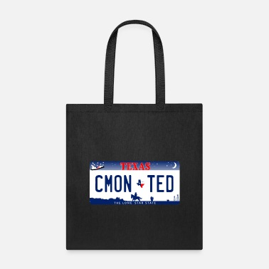 License CM'ON TED License Plate - Tote Bag