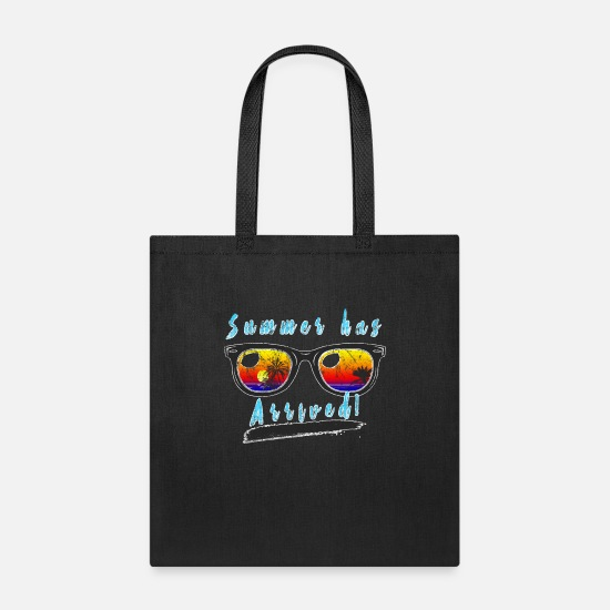 Tropical Bags & Backpacks - Tropical - Tote Bag black