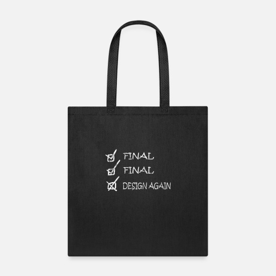 Image Bags & Backpacks - Drawing - Tote Bag black