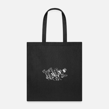 V8 V8 Engine - Tote Bag