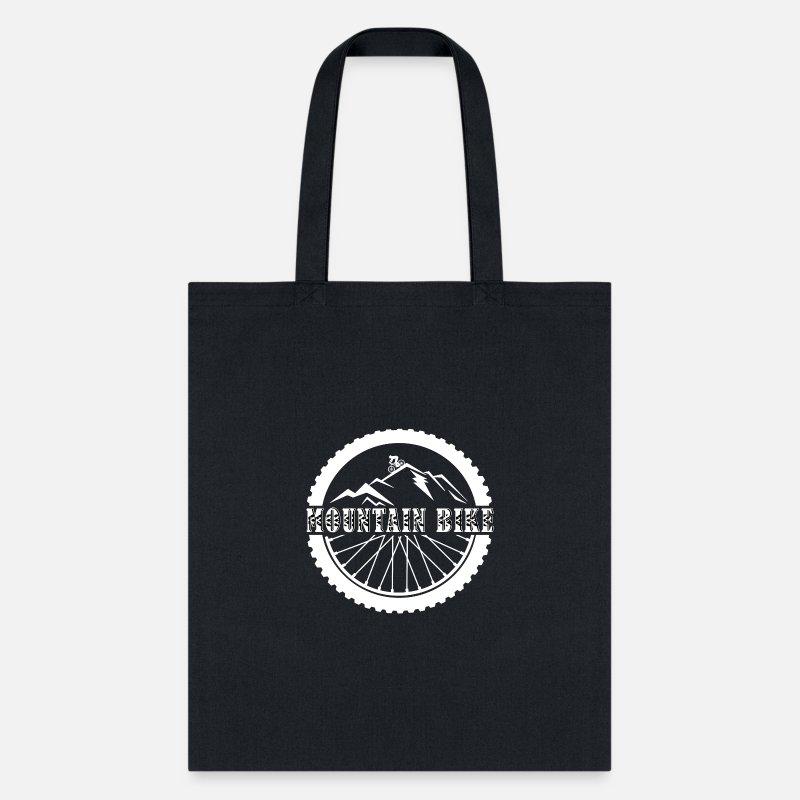 Downhill biking mountain bike tote bag canvas shopping