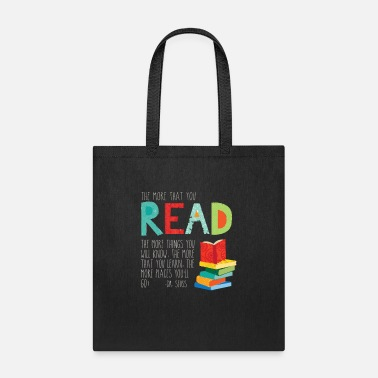 Read The more that you read - Tote Bag