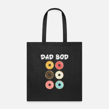 Father Day Dad Bod Funny Six Pack Donuts Father T-shirt - Tote Bag