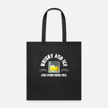 Ice Whisky and ice - Tote Bag