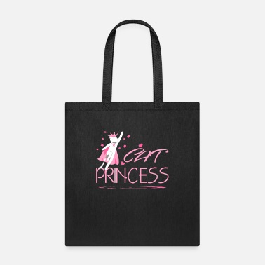 For Papa Princess Girl Gift Crown Funny Daughter - Tote Bag
