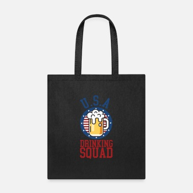 Drinking Drinking Squad - Tote Bag