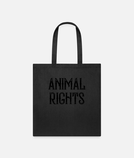 Rights Bags & Backpacks - Animal Rights - Tote Bag black