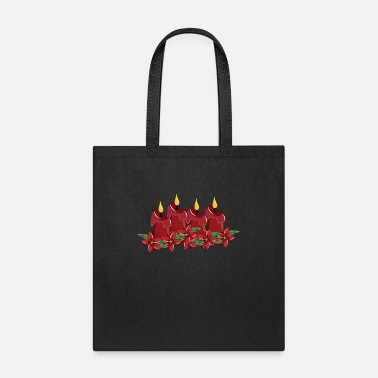 Advent Third Sunday Of Advent Christmas Season Candles - Tote Bag
