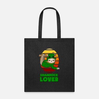 Patty St Patricks Day Shamrock Lover Sloth gift - Tote Bag