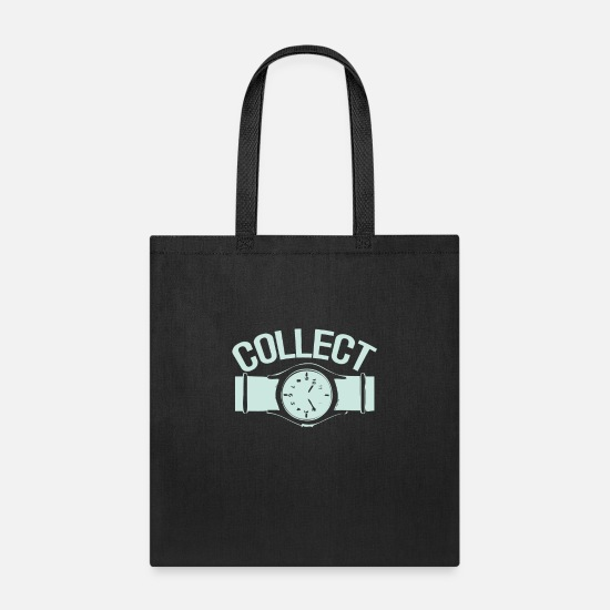 Birthday Bags & Backpacks - Collect watches - Tote Bag black