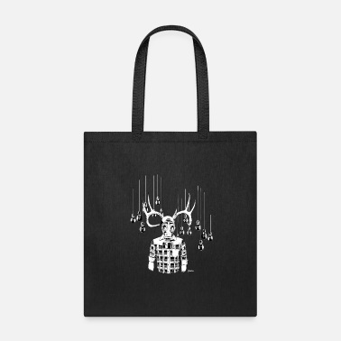 Bone Deer Apocalypse - Tote Bag
