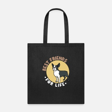 Bulldog Best Friends for Life (Frenchie) - Frenchie Dad - Tote Bag