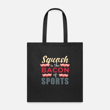 Retro Squash And Bacon T-Shirt & Gift - Tote Bag