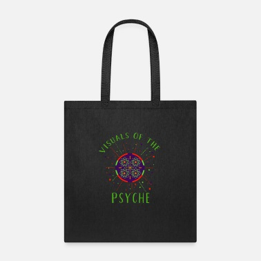 Visuals of the Psyche Psychedelic Arabic Geometry - Tote Bag