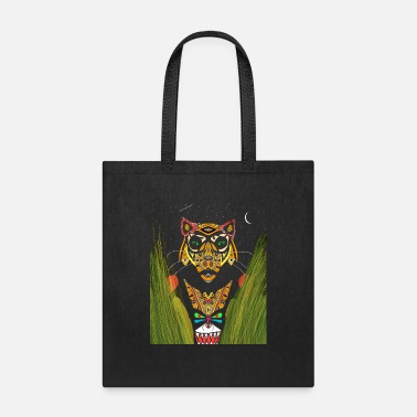 Junglecontest tiger colorful animal - Tote Bag