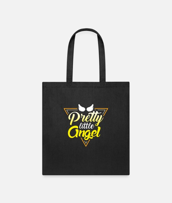 Angel's Wings Bags & Backpacks - Pretty Little Angel Wings - Tote Bag black