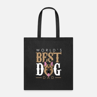 Dogowner World's Best Dog Dad - German Shepherd - Tote Bag