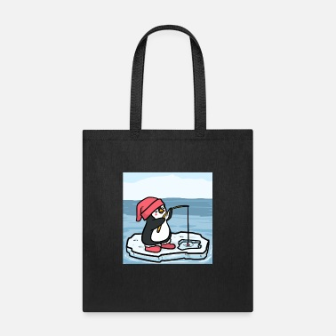 Cod Ice Fishing Angel Hole Gift Fish Fishing Ice - Tote Bag