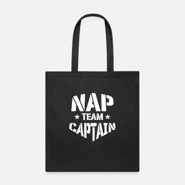 Shell Nap Team Captain tired and casual leader - Tote Bag