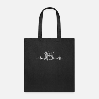 Choir Drums Is My Heartbeat Music Gift - Tote Bag