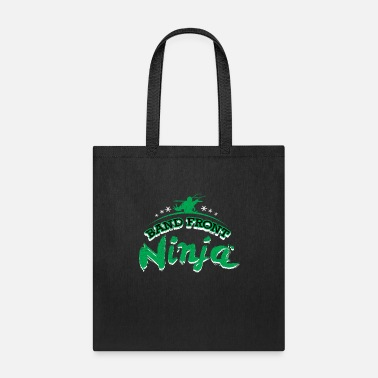 Funny Marching Band Band Front Ninja - Funny Marching Band Gift Color - Tote Bag