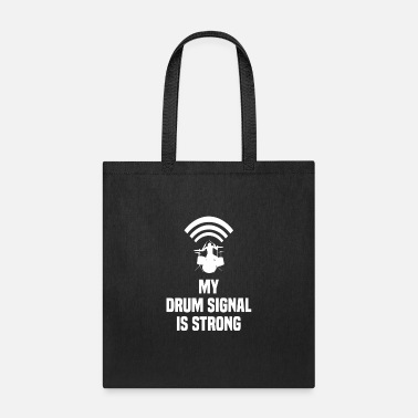 Ska Drummer Funny Quote Gift Punk Rock Band Wifi Wlan - Tote Bag