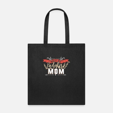 Ladybird World's Best Mom - Bird Mom Gift Parrot - Tote Bag